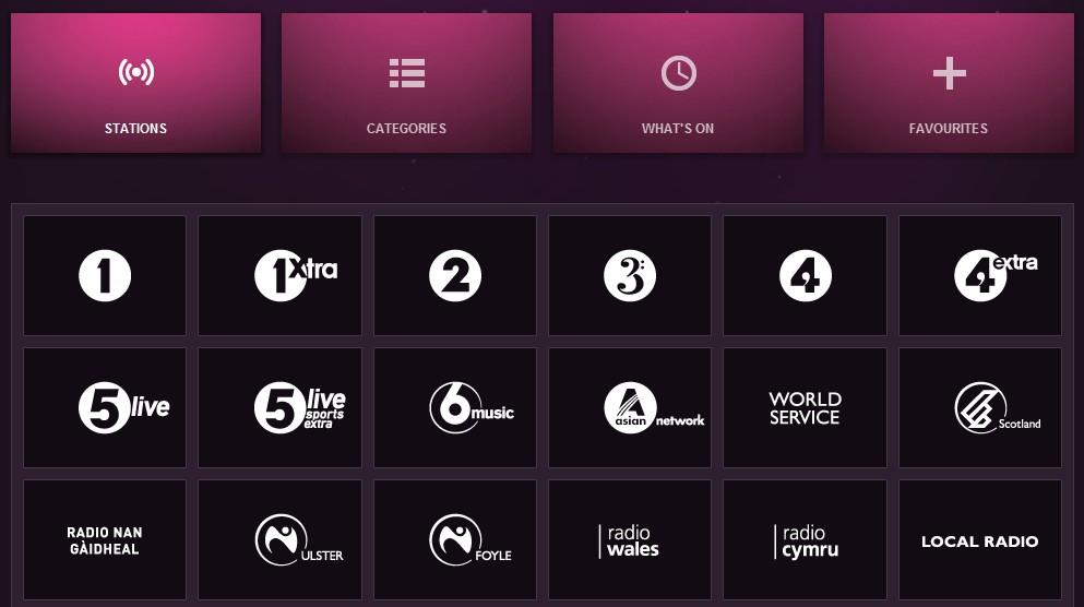 BBC广播频道