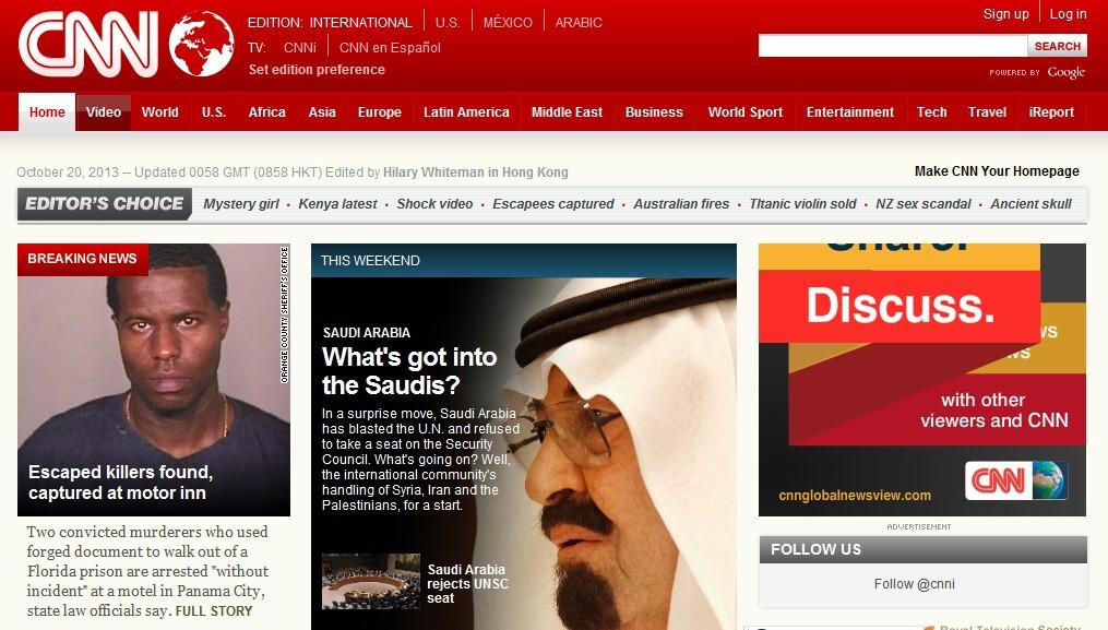 美国cnn官网_CNN网站介绍-趣满网