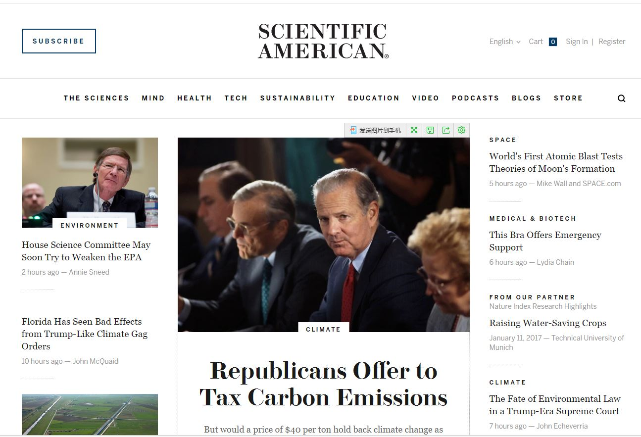 Scientific American截图